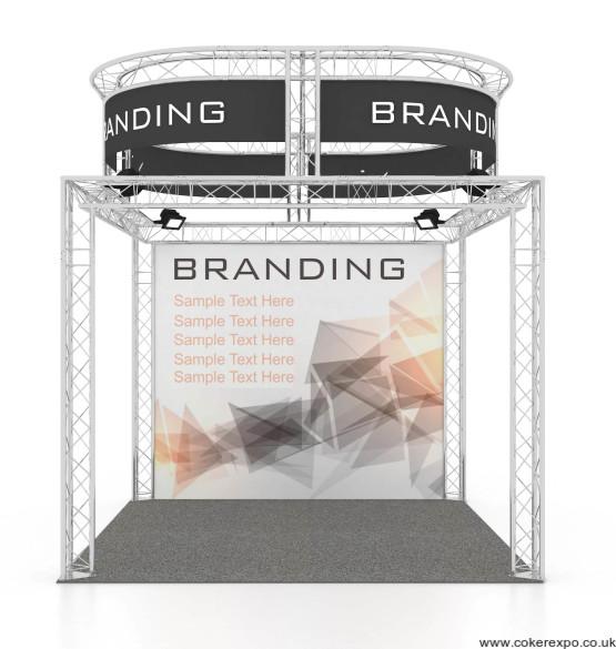 4x4x4 Exhibition lighting truss stand