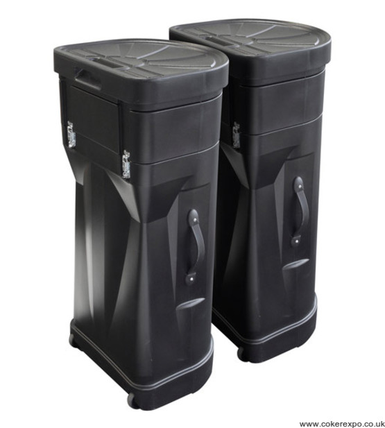 Centro display stand wheeled transit cases