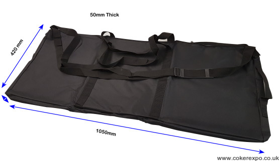 Carry bag for folding plinth.