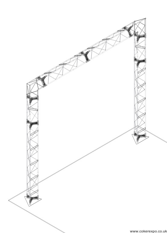 Gantry stand portal