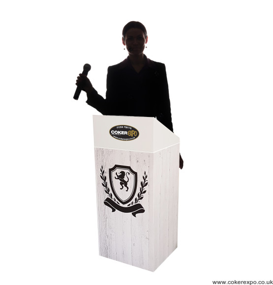 Lectern with Graphics