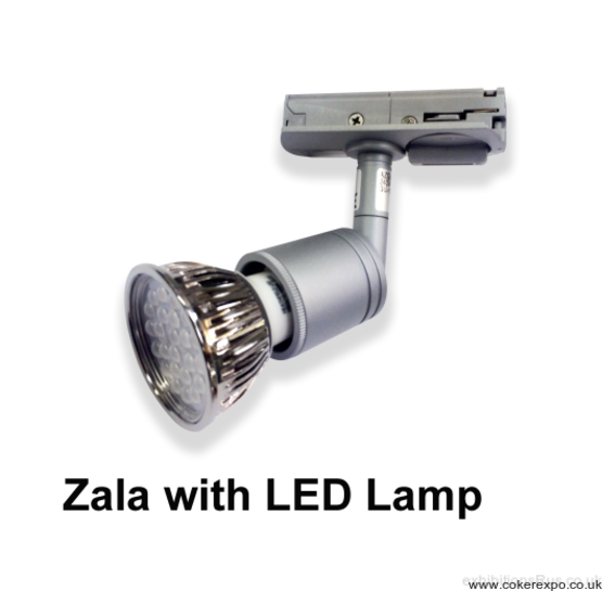 Zala 50w halogen track light