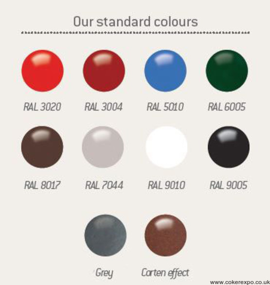 Heavy duty notice board colours