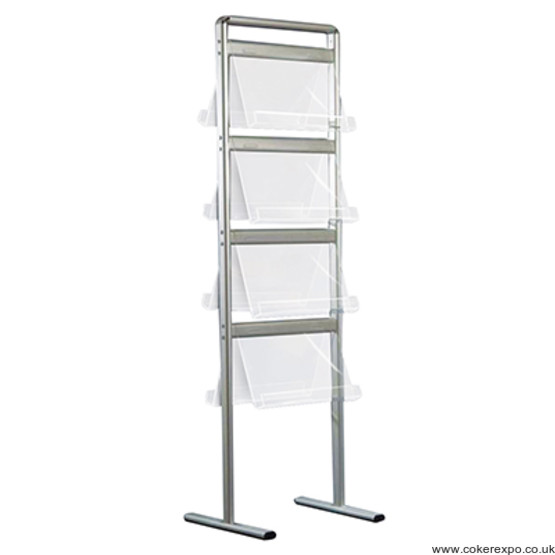 Communicator brochure rack. Double sided 3 Sizes
