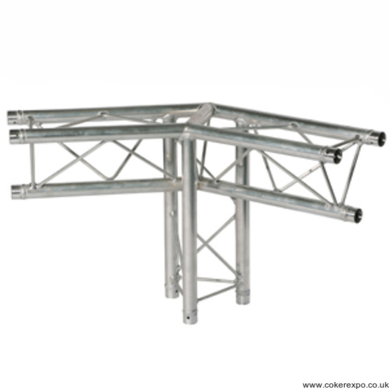 120 degree lighting truss junction with leg