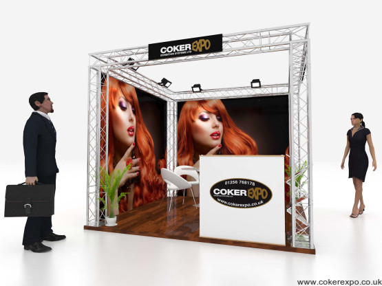 Quad S35 Exhibition stand