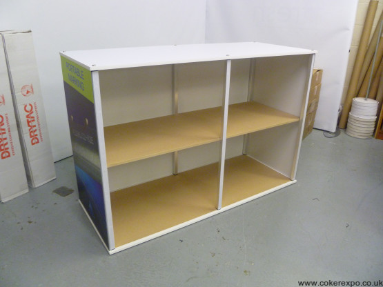 Flat Panel Display Counter with branding