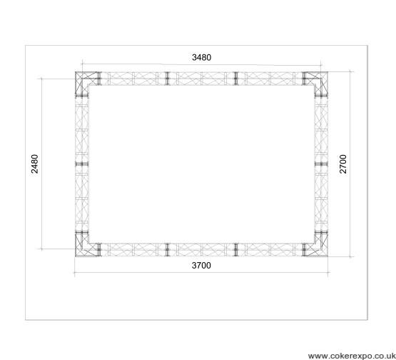 Banner frame dimensions