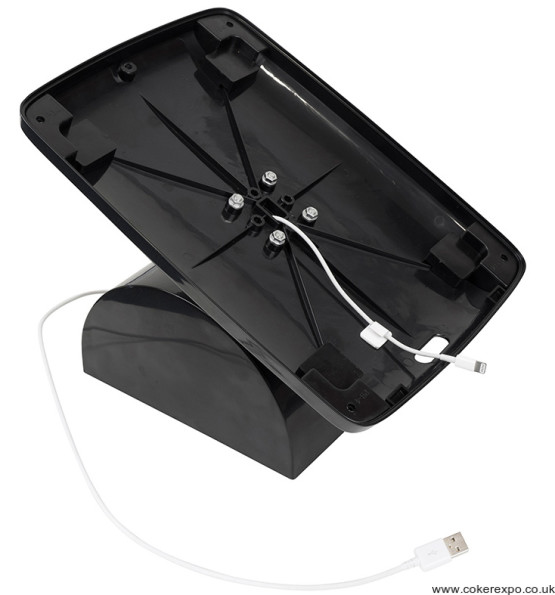 Ipad table cable management route