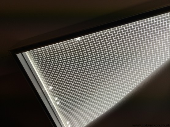 Led lightbox diffuser sheet