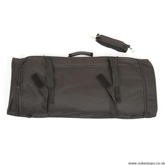 Twist hardware carry bag
