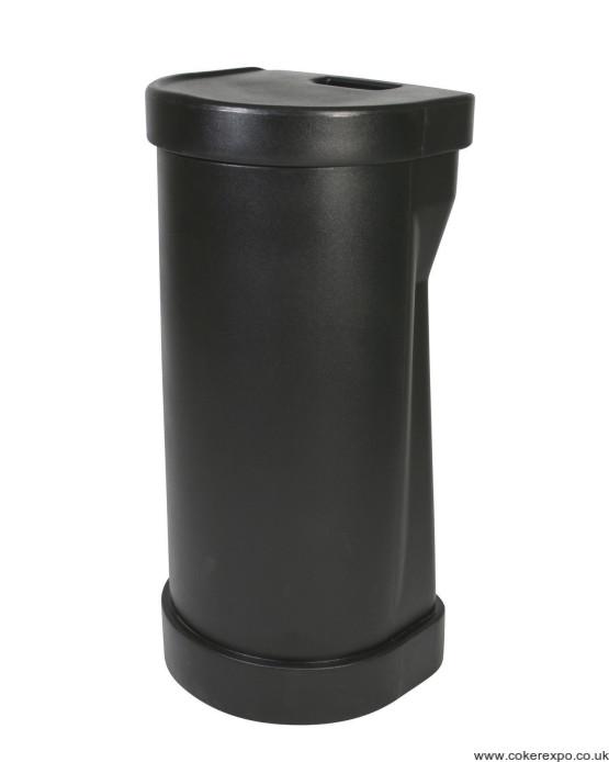 Leonardo compact, wheeled transit case, black