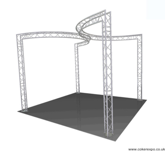 Events Lighting Truss with curves