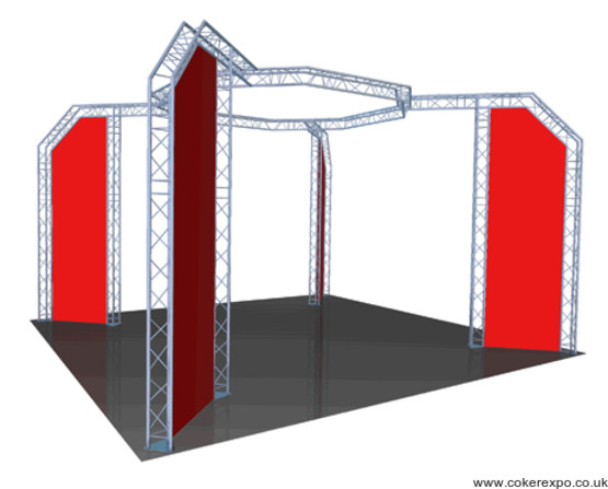Display truss build 49 (dwg 529-1)