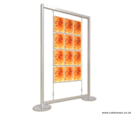 free standing wire display frame