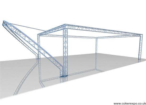 Custom trio truss build 75