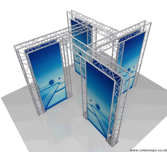 Display truss build 50 (dwg 518)