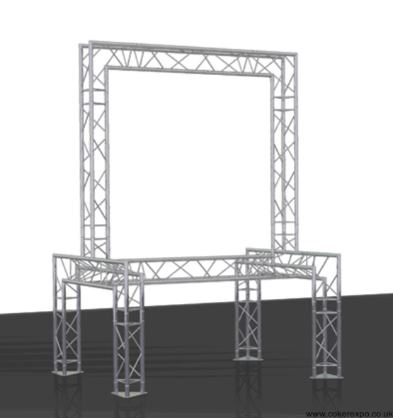 Lighting truss build 19