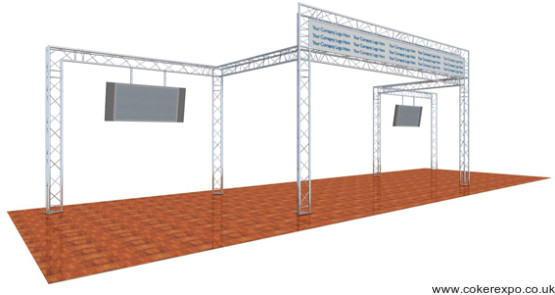 Truss for trade show events