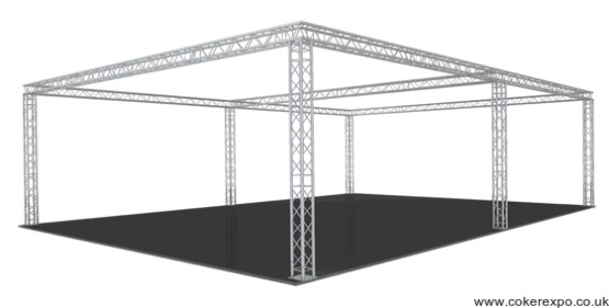 Quad Lighting truss S50 from Coker Expo