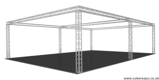 Quad Lighting truss S50 from Coker Expo