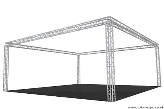 290 quad lighting truss - build 98