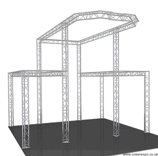 Custom exhibition gantry system