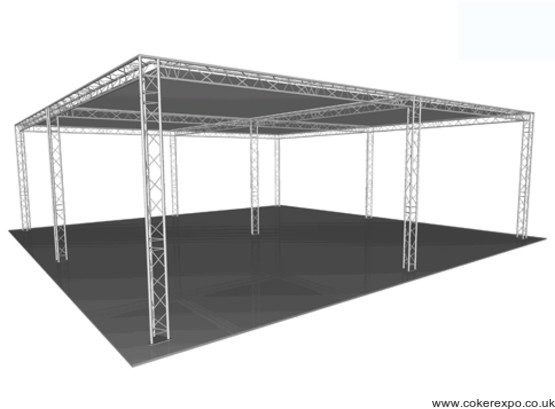 Aluminium Exhibition Gantry build 39