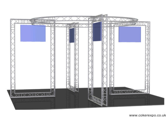 Lighting truss build 22