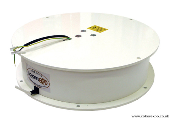 Heavy duty display turntable loads to 300 kilos