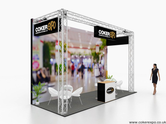 Fixed exhibition stand