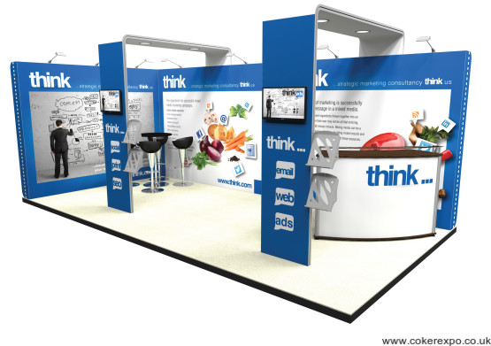 Exhibition Stand Structure : Vector kit trade show display stand with arch canopy