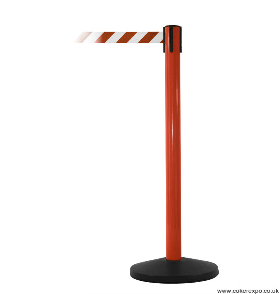Safety Master Retractable belt barriers