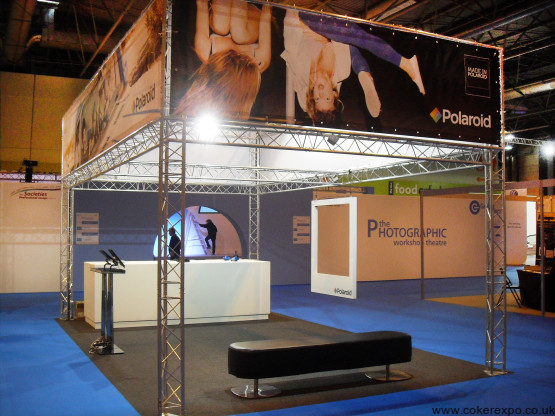 Exhibition Stand 4M high Built for display lighting