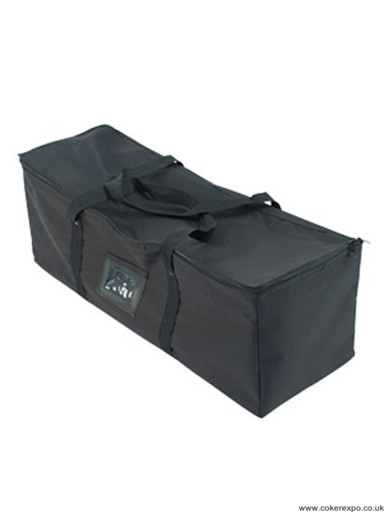 Formulate curved display carry bag