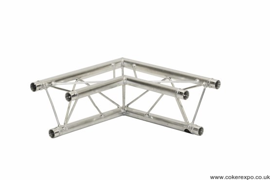S35 Trio Lighting Truss 90° 2 Way