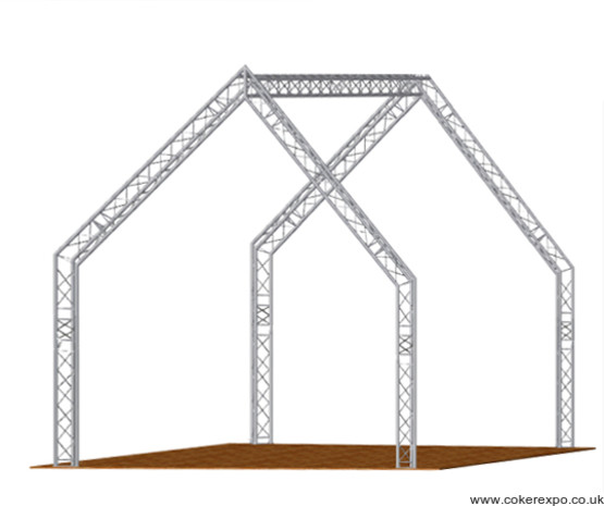 Lighting truss house design
