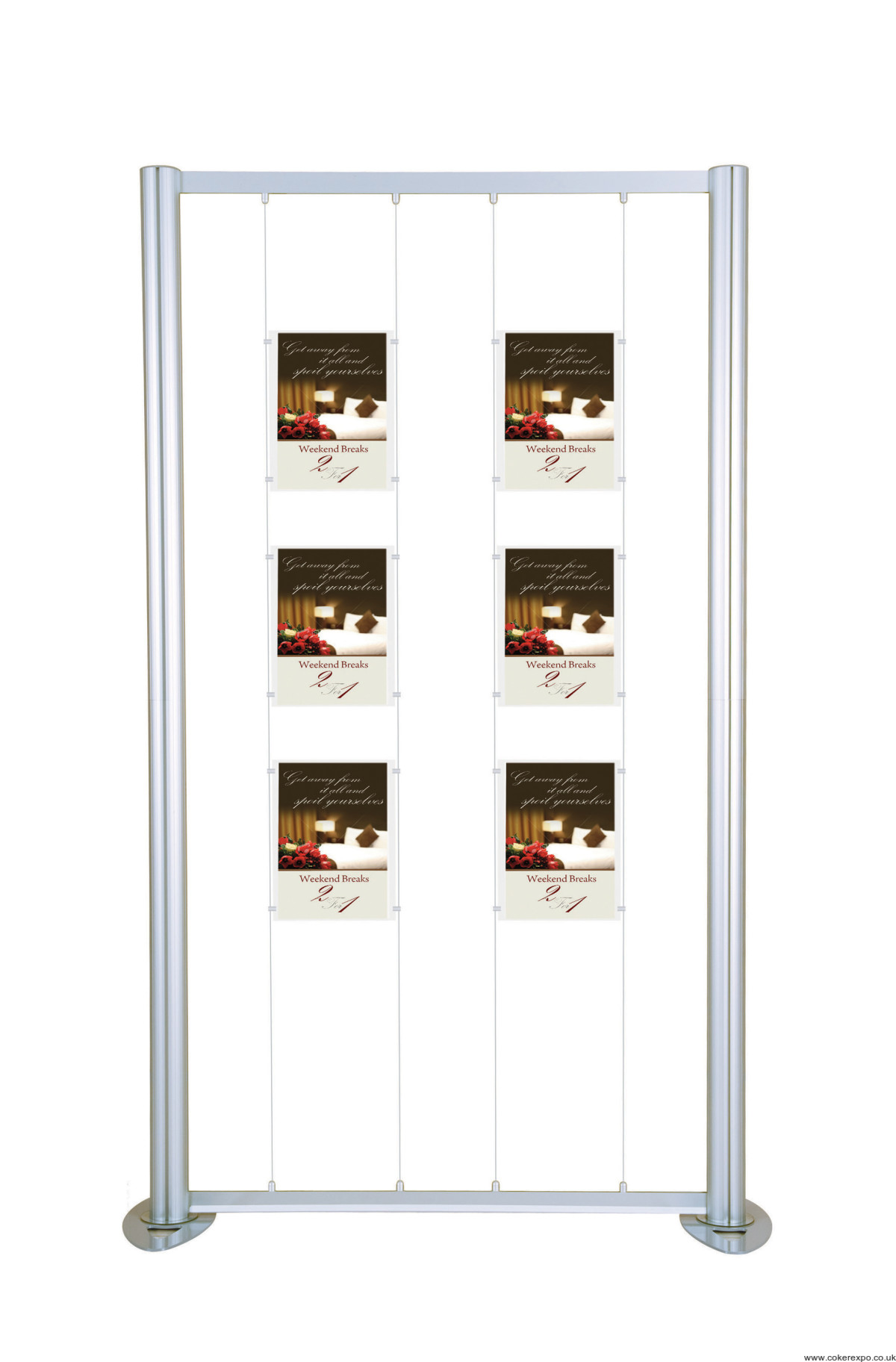 Cable Display Systems | Wire Display Kits – Coker Expo