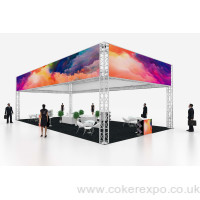 Large Exhibition gantry stand S50 Quad12x6x4M High