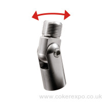 Wall screw fitting adjustable