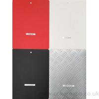 Vinyl flooring colour swatch