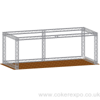 6x3M Quad gantry stand