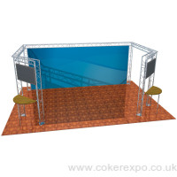 Trade show gantry system hire