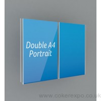 Double and triple acrylic pockets