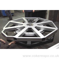 CS03 display turntable for large revolving displays at events and showrooms