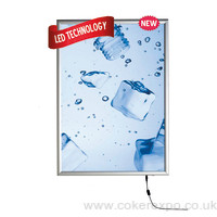 Slimline LED light boxes