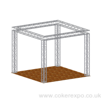 Quad Lighting Gantry, 3mx3m floor area