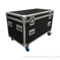 wheeled exhibition flight case