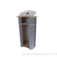 Lectern pro. Choice of colors and tops, with acrylic upstand