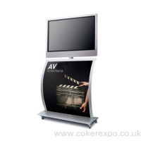 "Audio Visual Display Stand for 32"" Screens"